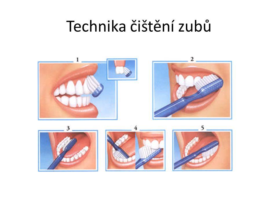 Technika čištění zubů