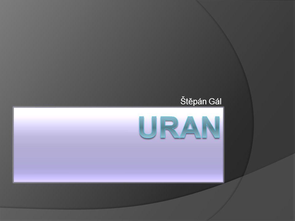 Štěpán Gál Uran