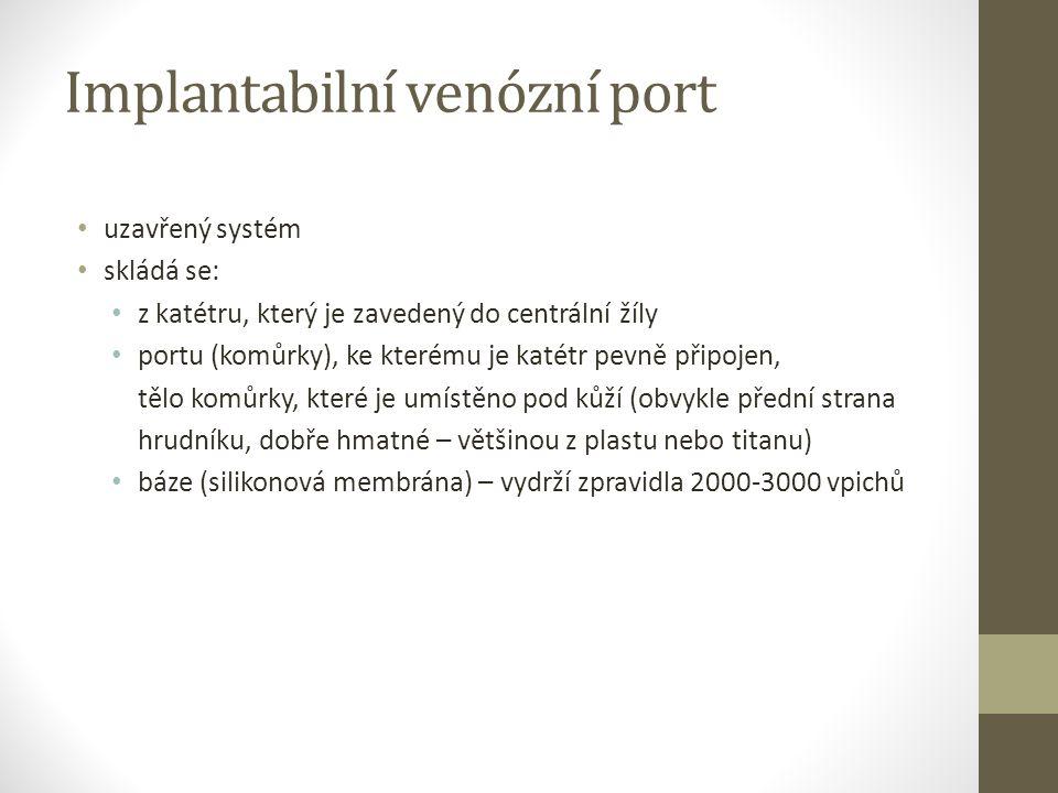 Implantabilní venózní port
