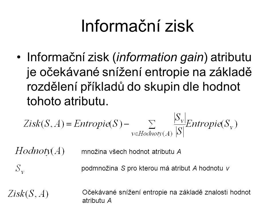 Informační zisk