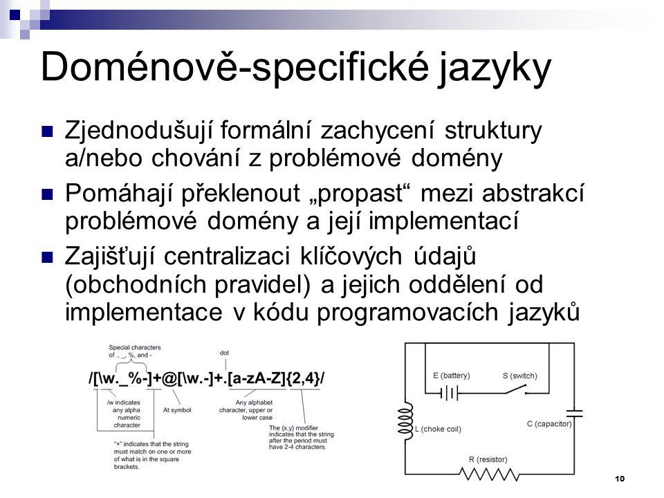 Doménově-specifické jazyky