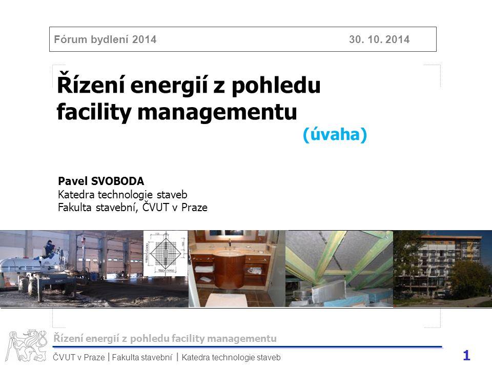 Řízení energií z pohledu facility managementu