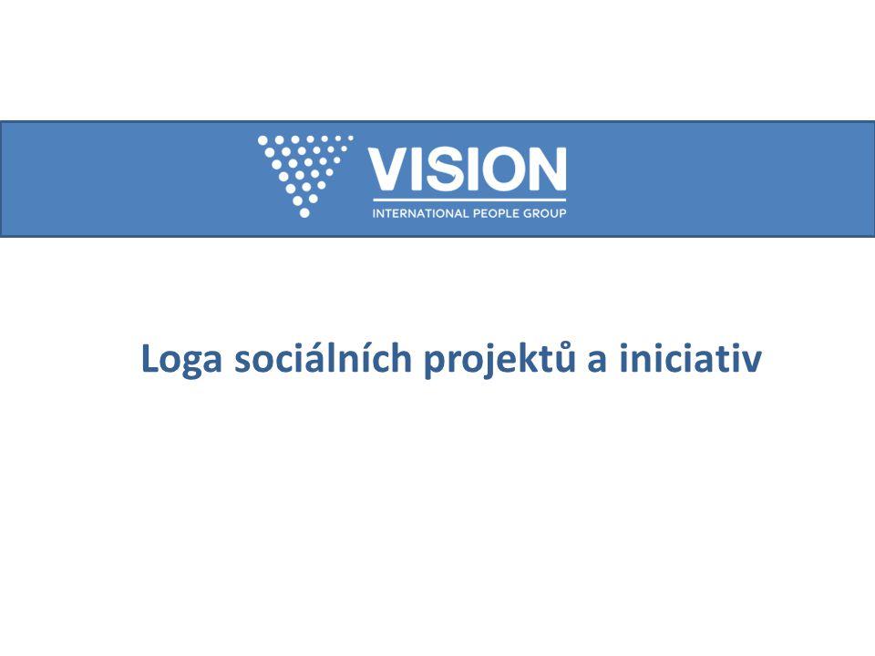 Loga sociálních projektů a iniciativ