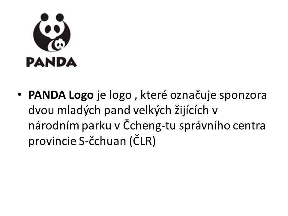 PANDA Logo je logo , které označuje sponzora dvou mladých pand velkých žijících v národním parku v Čcheng-tu správního centra provincie S-čchuan (ČLR)