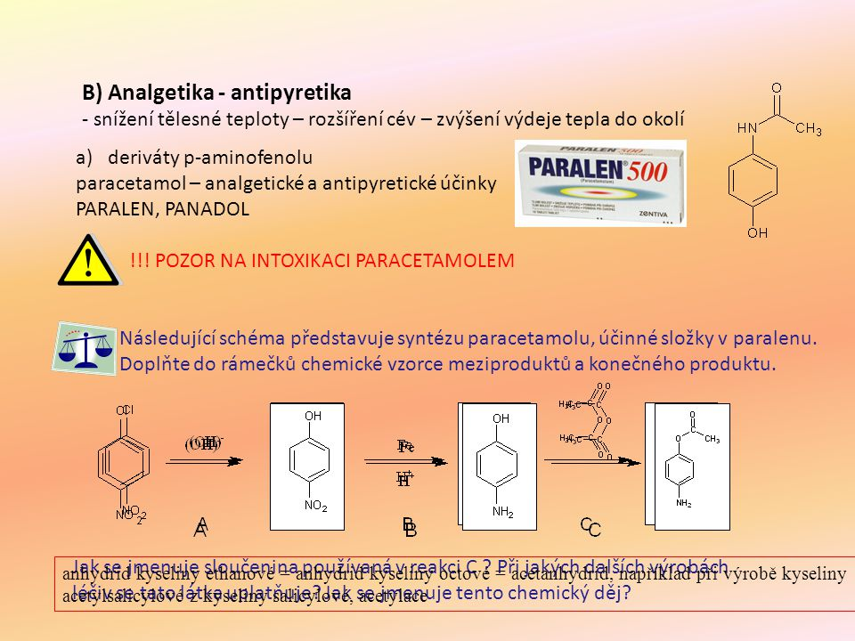 B) Analgetika - antipyretika