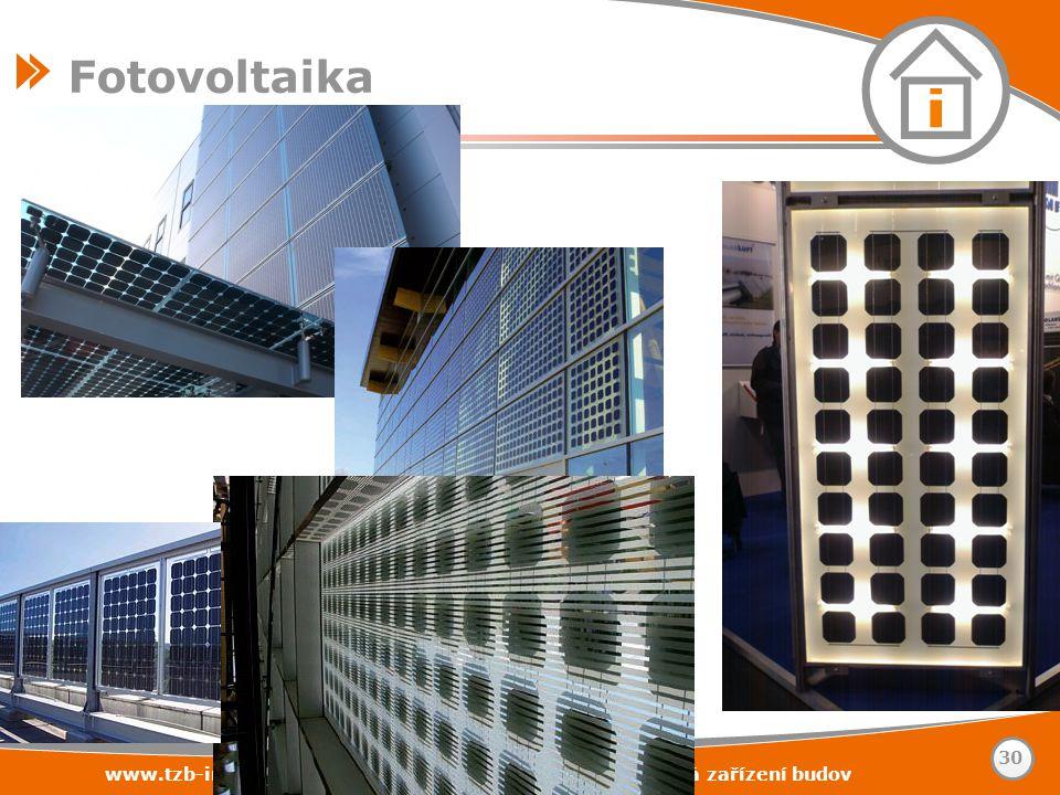 Fotovoltaika www.tzb-info.cz – stavebnictví – úspory energií – technická zařízení budov