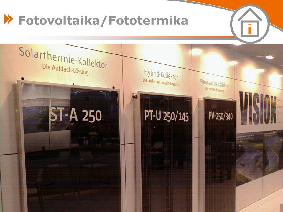 Fotovoltaika/Fototermika