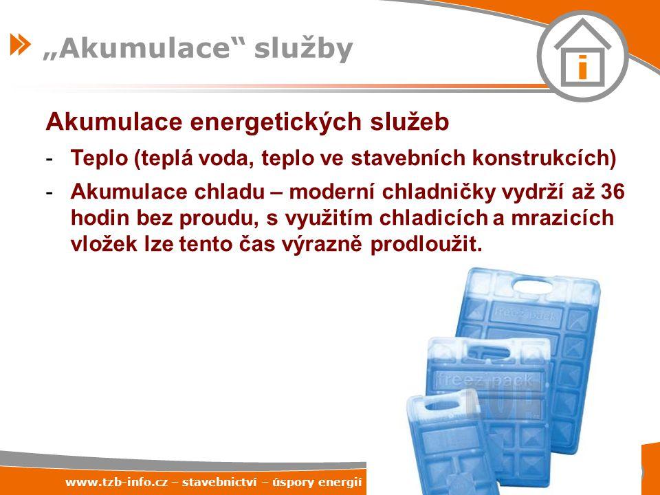 """""""Akumulace služby Akumulace energetických služeb"""