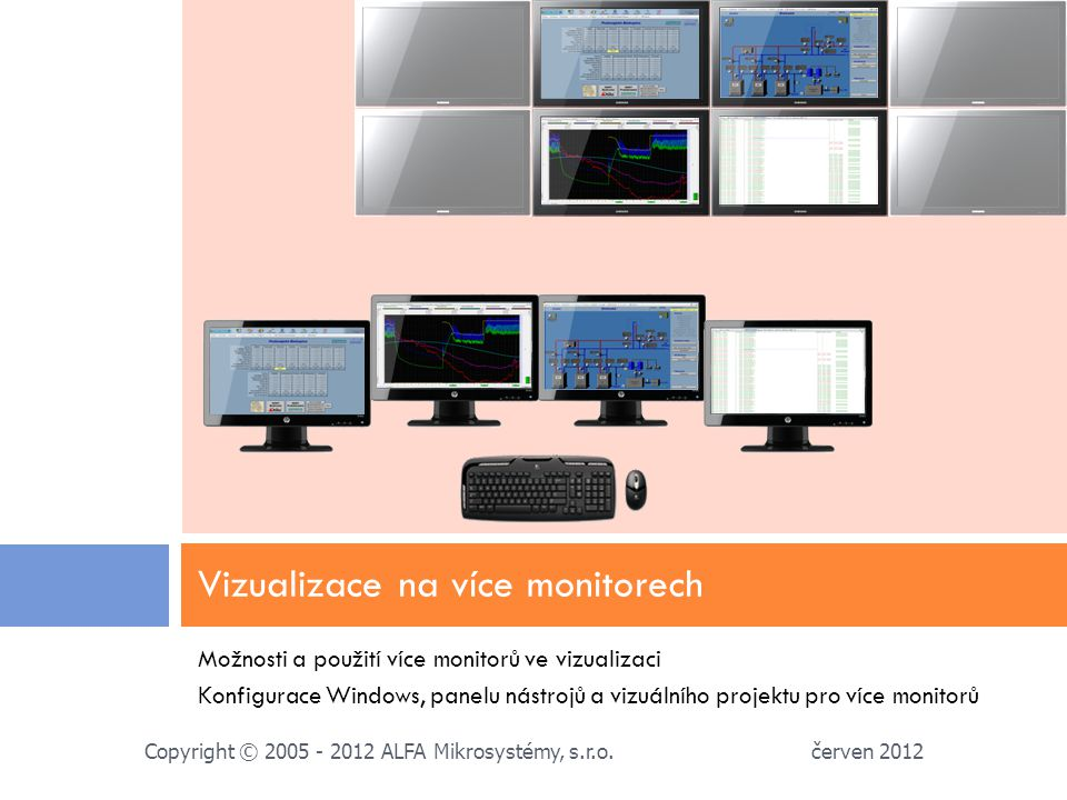 Vizualizace na více monitorech