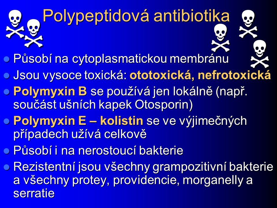 Polypeptidová antibiotika