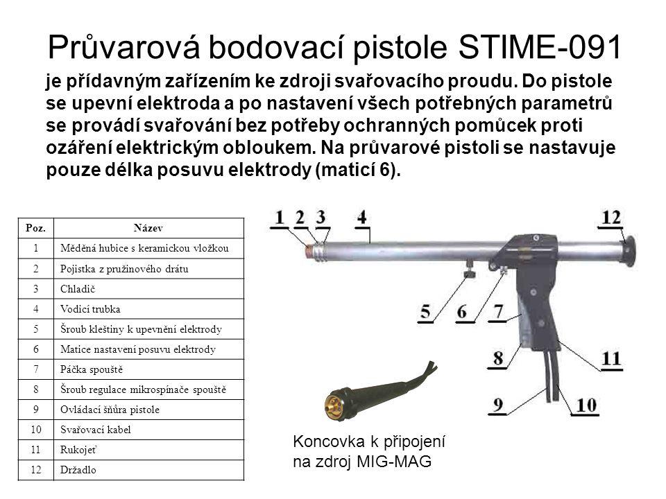 Průvarová bodovací pistole STIME-091