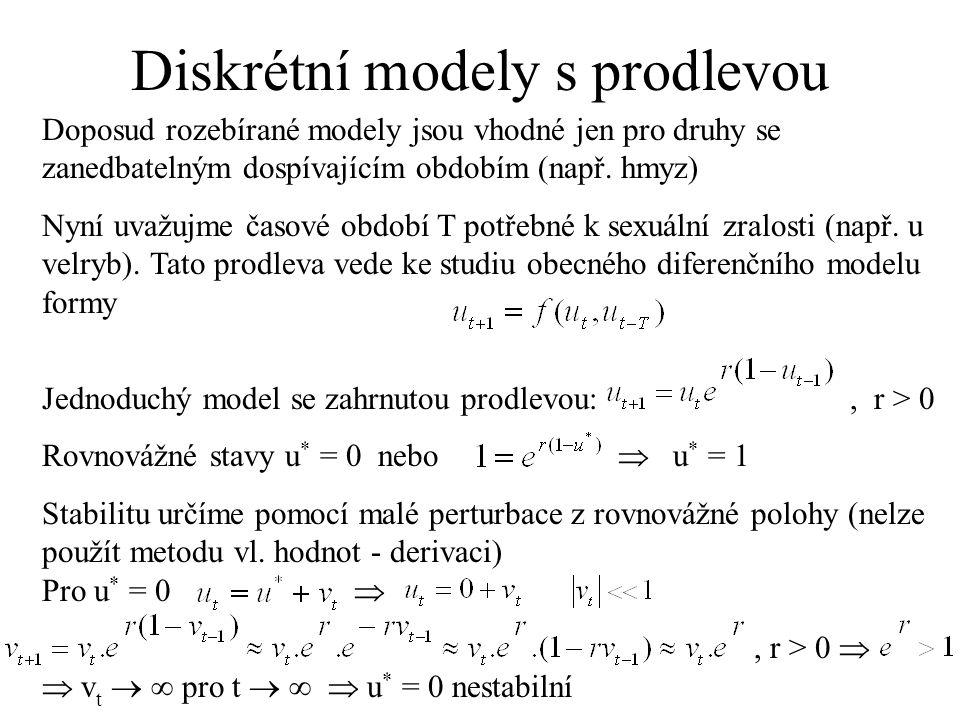 Diskrétní modely s prodlevou