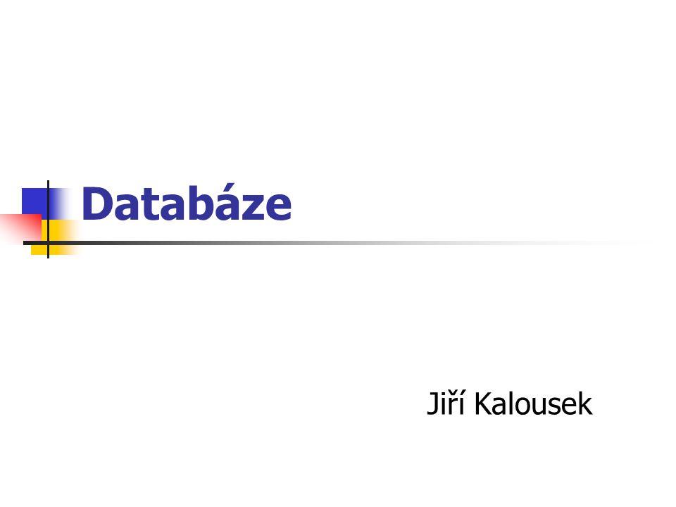 Databáze Jiří Kalousek