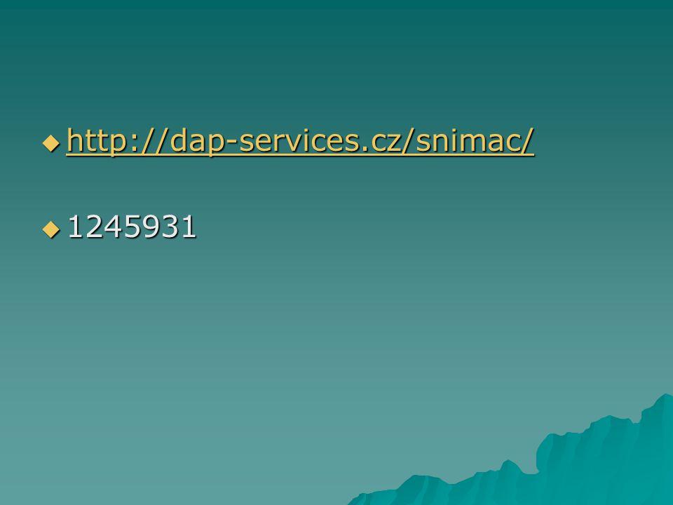 http://dap-services.cz/snimac/ 1245931