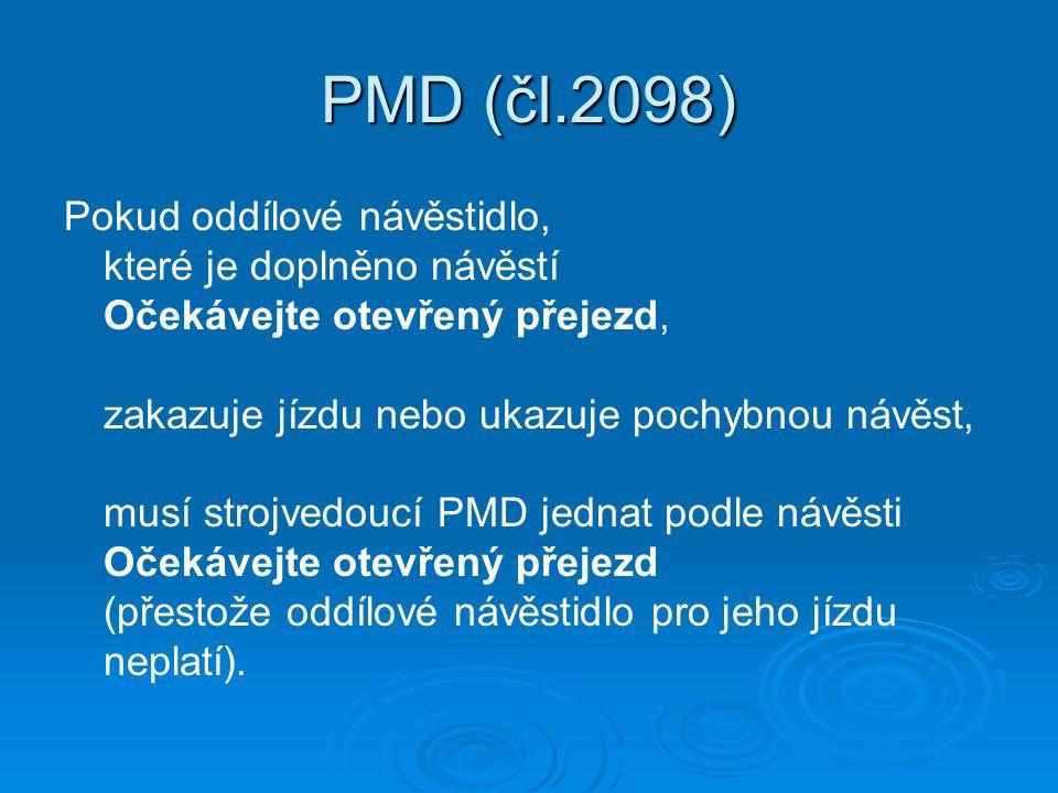 PMD (čl.2098)