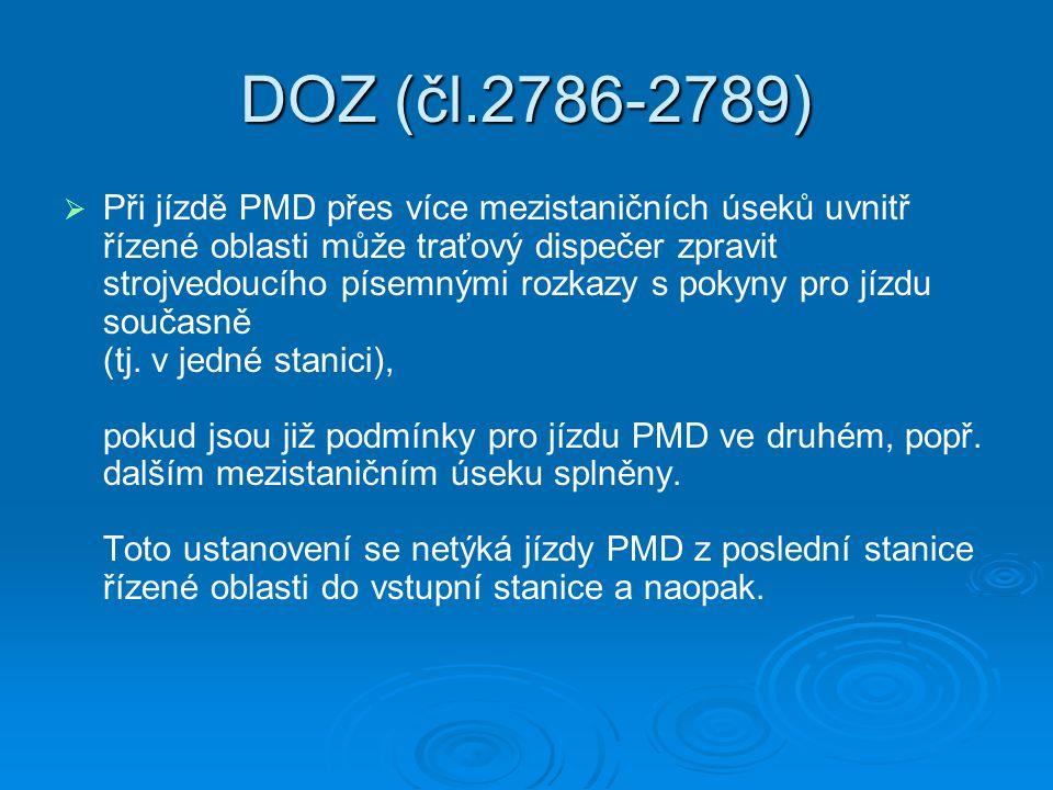 DOZ (čl.2786-2789)