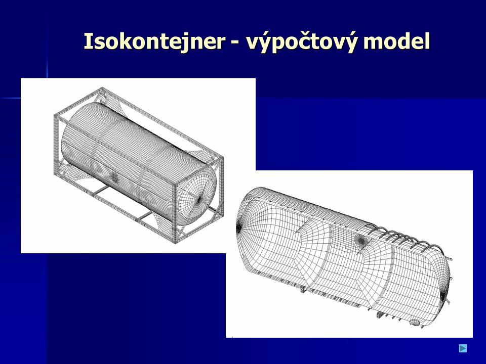 Isokontejner - výpočtový model