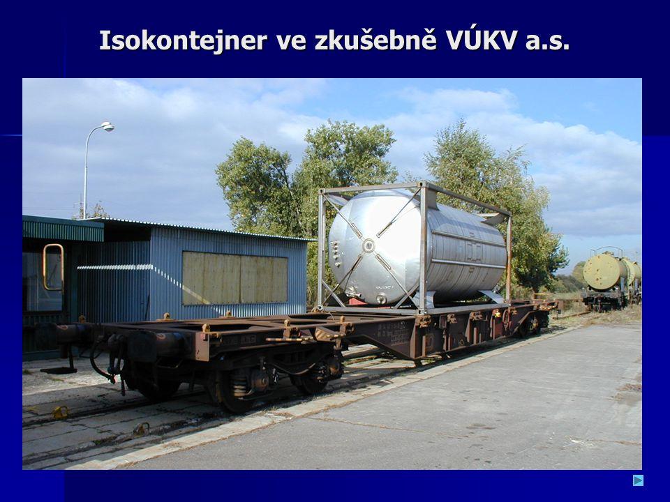 Isokontejner ve zkušebně VÚKV a.s.