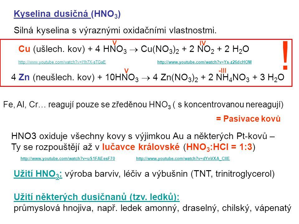 ! Kyselina dusičná (HNO3)