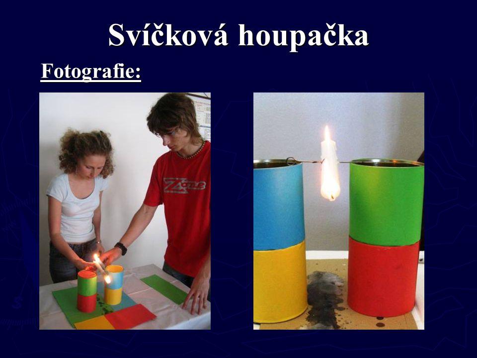 Svíčková houpačka Fotografie: