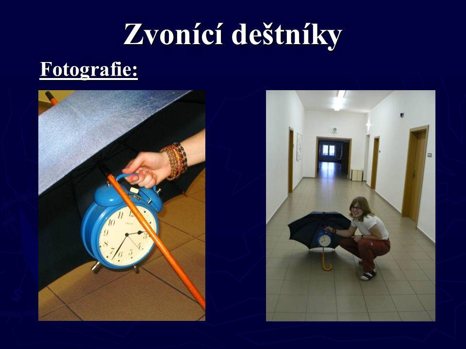 Zvonící deštníky Fotografie: