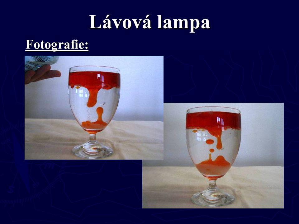 Lávová lampa Fotografie: