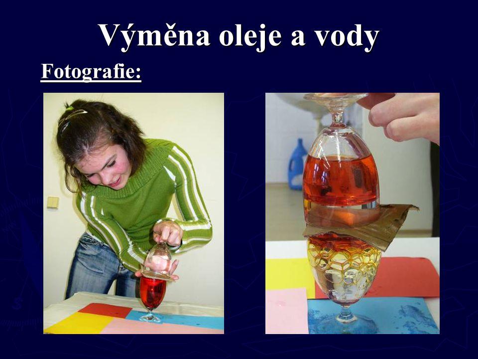 Výměna oleje a vody Fotografie: