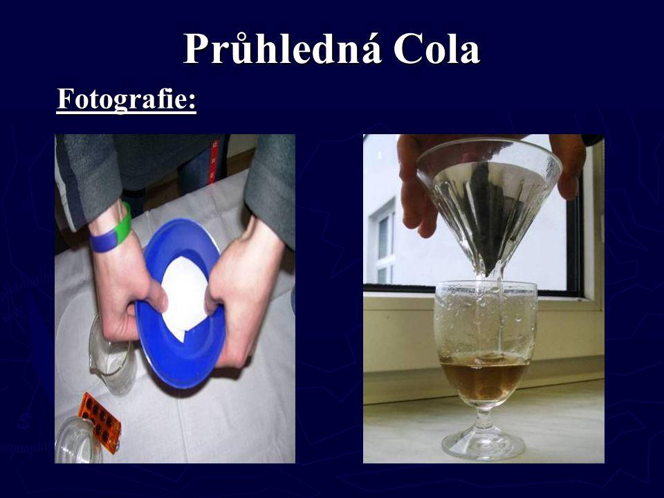 Průhledná Cola Fotografie: