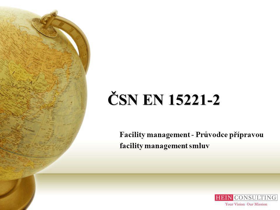 Facility management - Průvodce přípravou facility management smluv