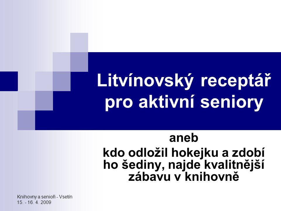 Litvínovský receptář pro aktivní seniory