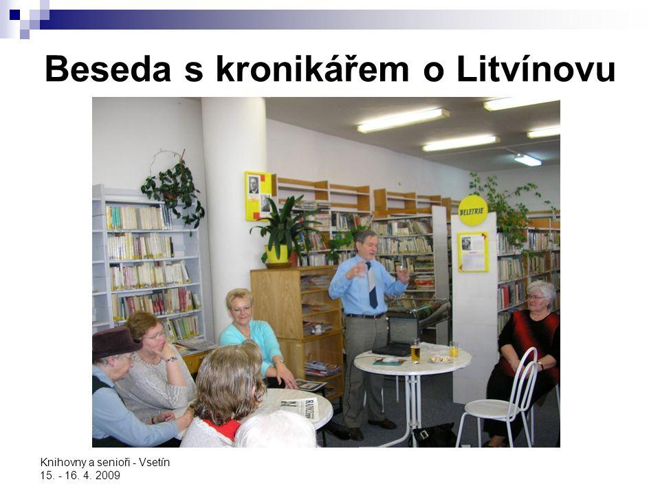 Beseda s kronikářem o Litvínovu