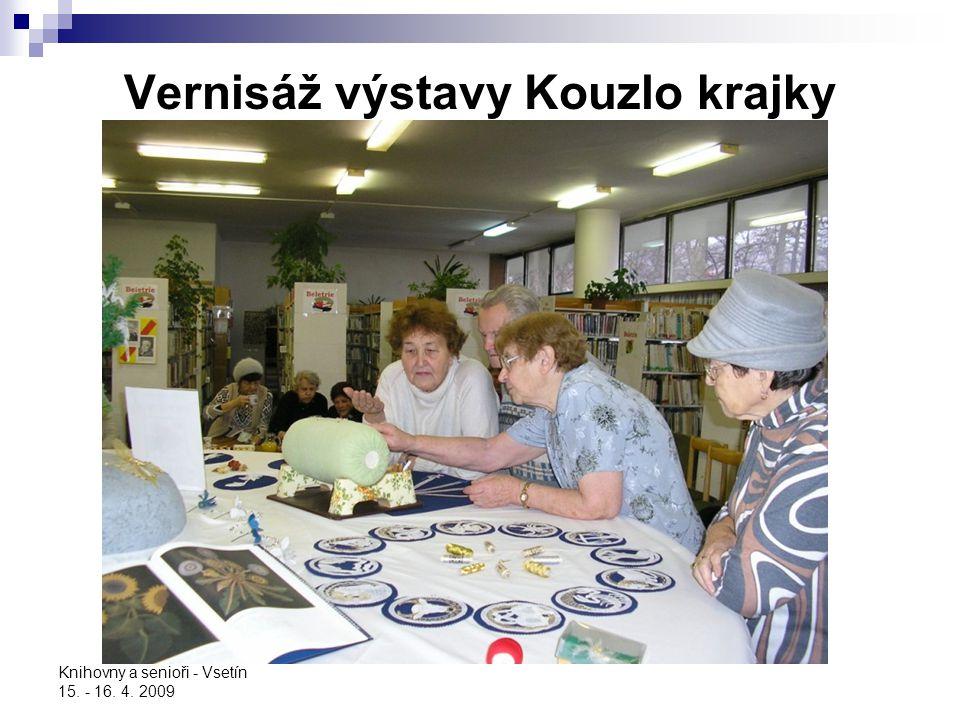 Vernisáž výstavy Kouzlo krajky