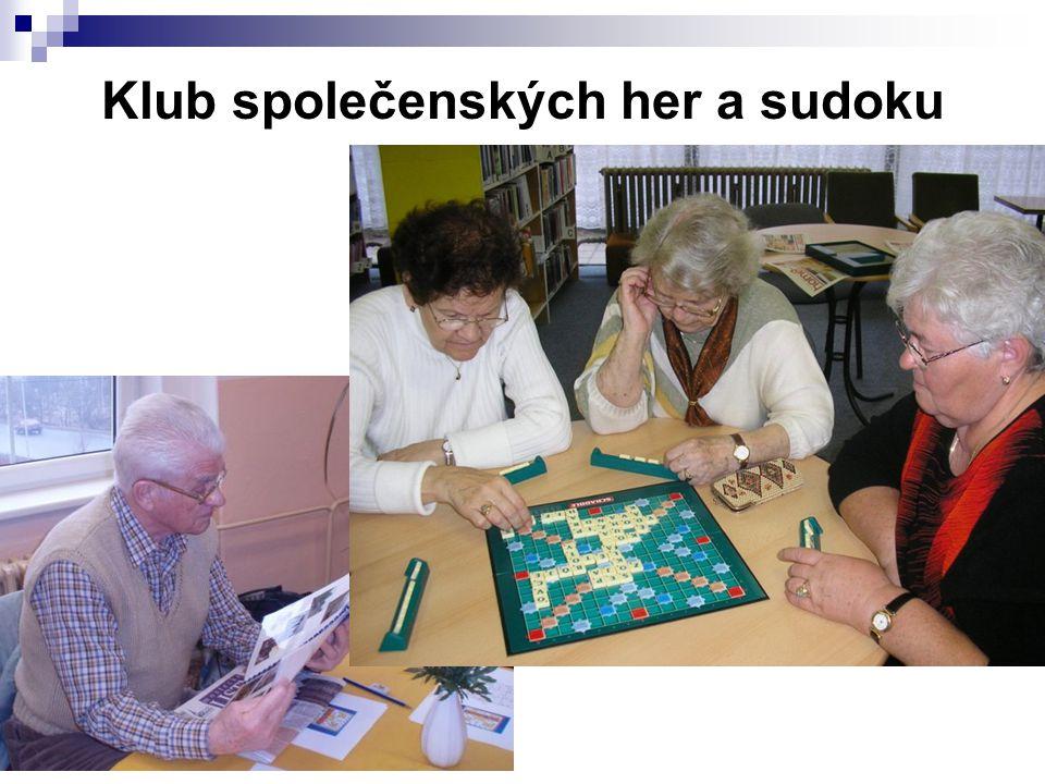 Klub společenských her a sudoku