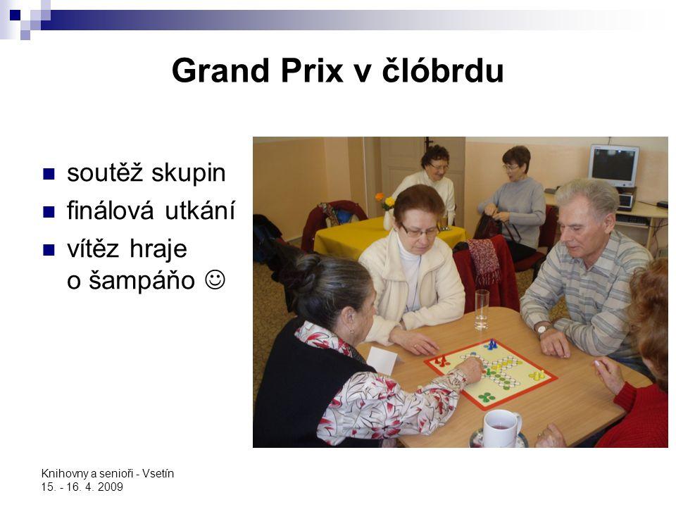Grand Prix v člóbrdu soutěž skupin finálová utkání