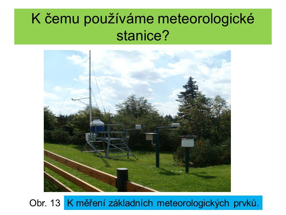 K čemu používáme meteorologické stanice