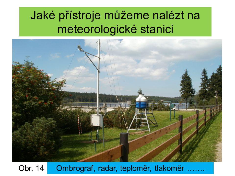 Jaké přístroje můžeme nalézt na meteorologické stanici