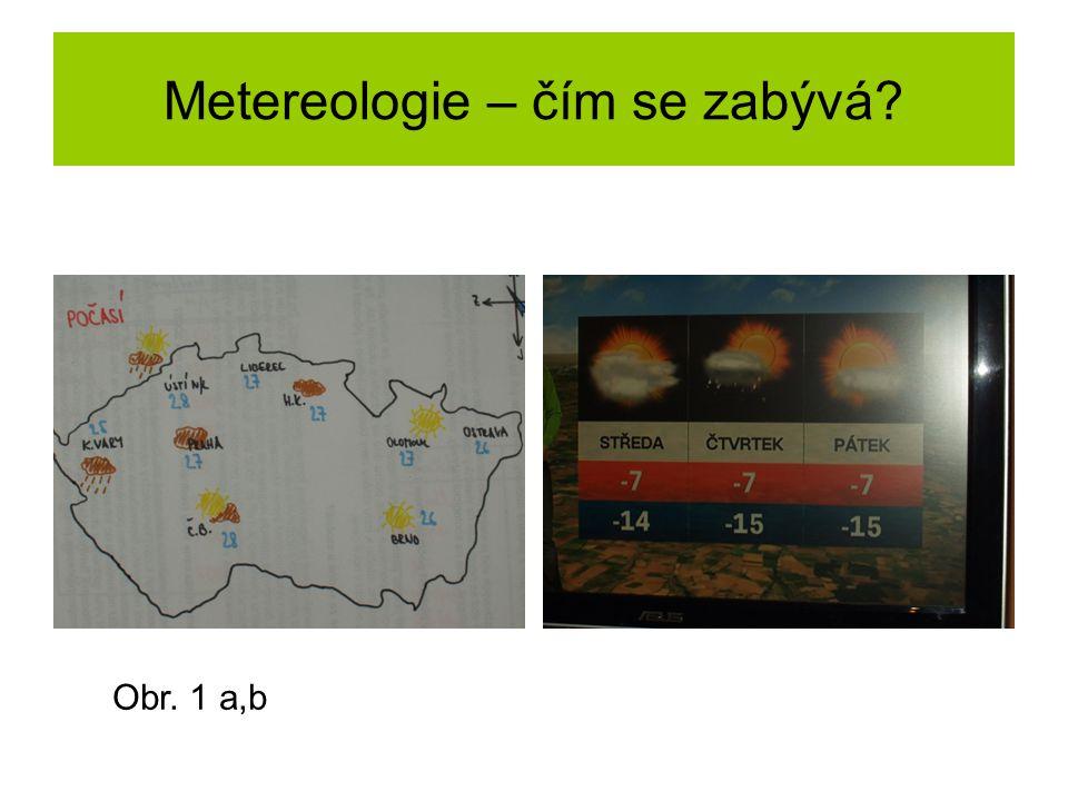 Metereologie – čím se zabývá