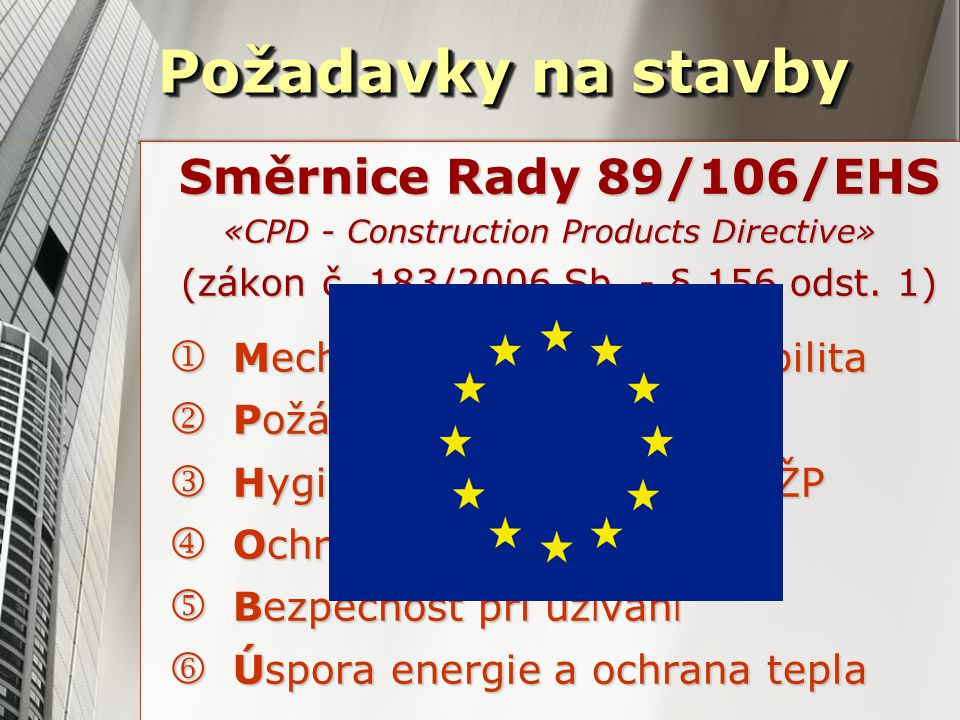 «CPD - Construction Products Directive»
