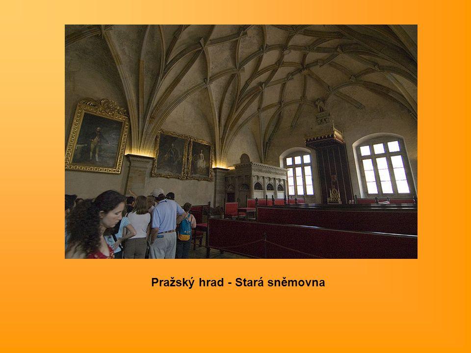 Pražský hrad - Stará sněmovna