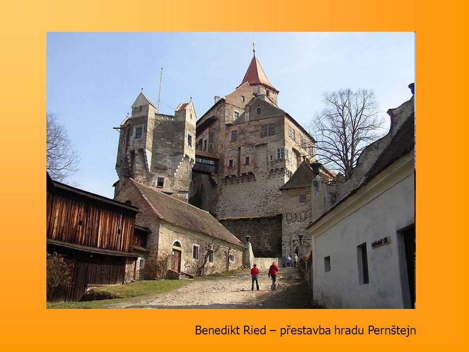 Benedikt Ried – přestavba hradu Pernštejn