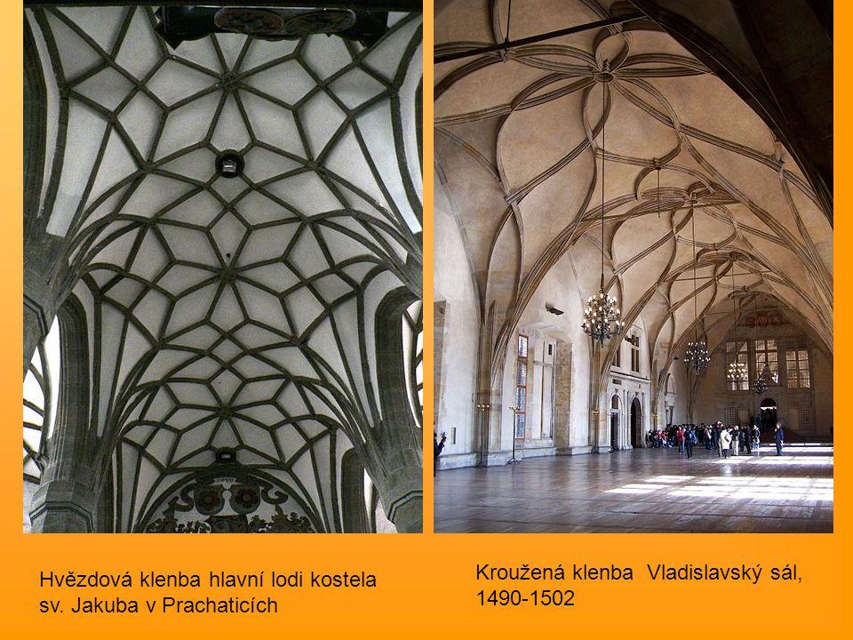 Kroužená klenba Vladislavský sál, 1490-1502