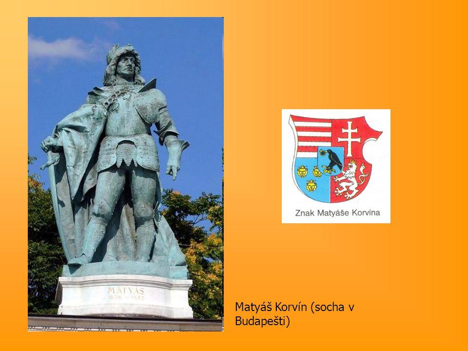 Matyáš Korvín (socha v Budapešti)