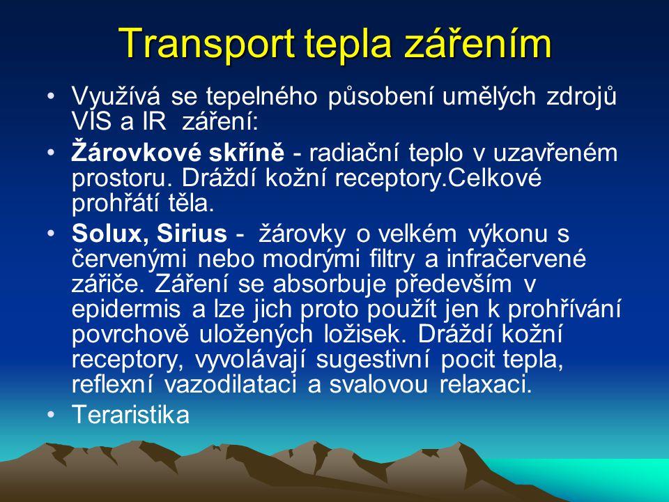 Transport tepla zářením