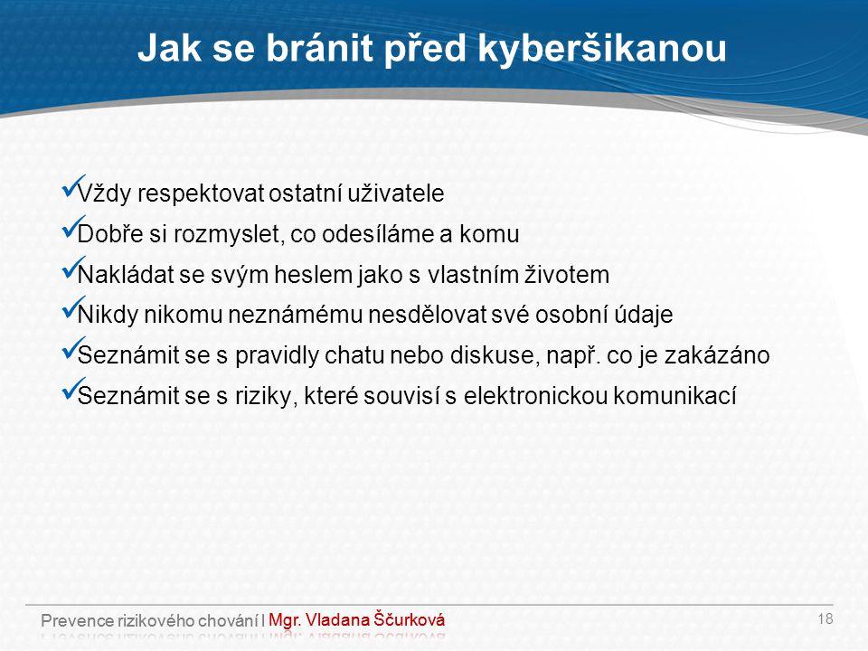 Jak se bránit před kyberšikanou