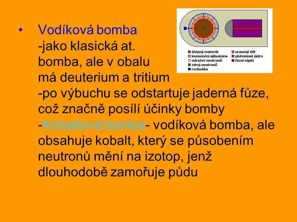 Vodíková bomba -jako klasická at