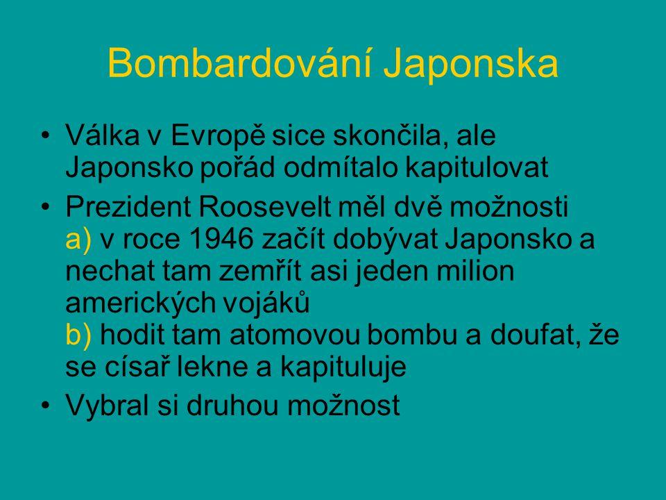 Bombardování Japonska