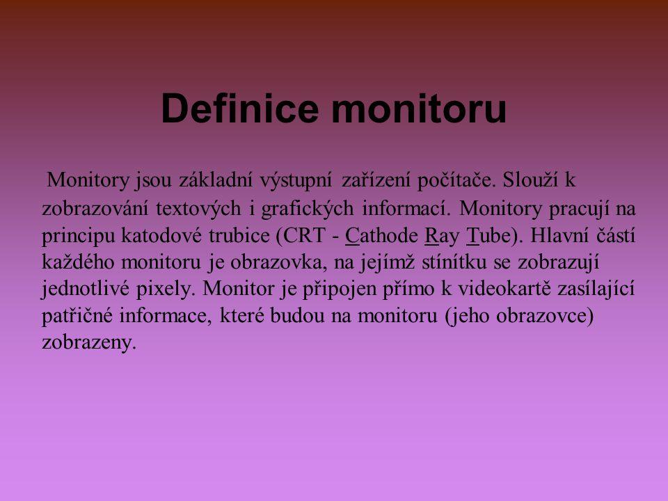 Definice monitoru