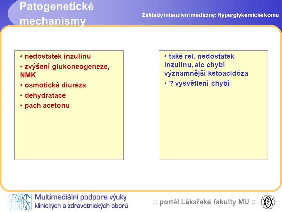 Patogenetické mechanismy