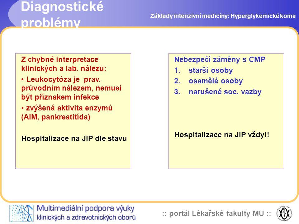 Diagnostické problémy