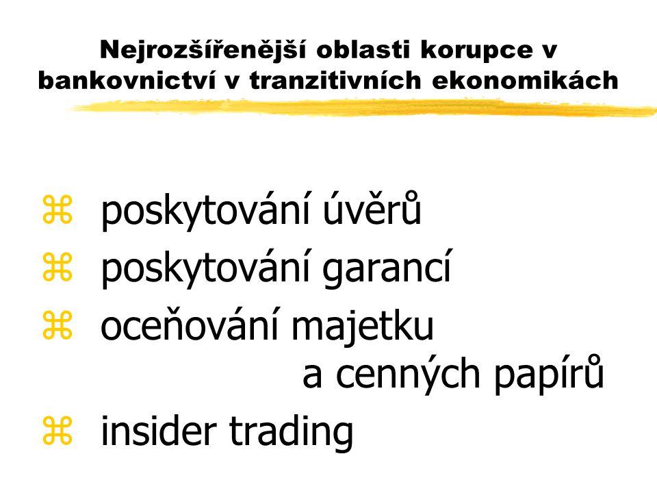 oceňování majetku a cenných papírů insider trading
